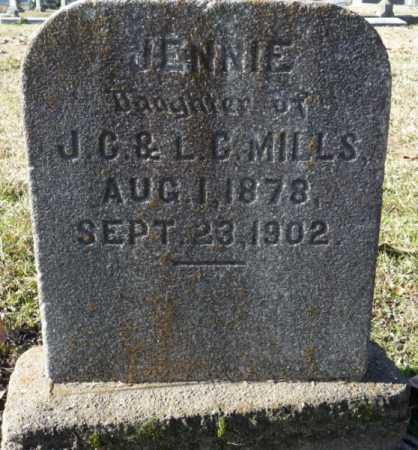 MILLS, JENNIE - Ouachita County, Louisiana | JENNIE MILLS - Louisiana Gravestone Photos