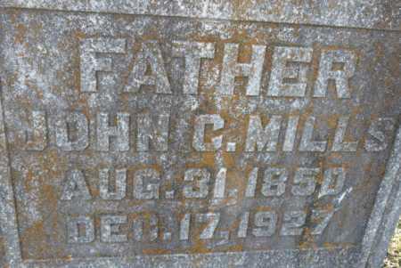 MILLS, JOHN C (CLOSE UP) - Ouachita County, Louisiana   JOHN C (CLOSE UP) MILLS - Louisiana Gravestone Photos