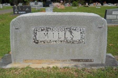MILLS, MEMORIAL - Ouachita County, Louisiana   MEMORIAL MILLS - Louisiana Gravestone Photos