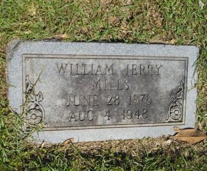 MILLS, WILLIAM JERRY - Ouachita County, Louisiana | WILLIAM JERRY MILLS - Louisiana Gravestone Photos
