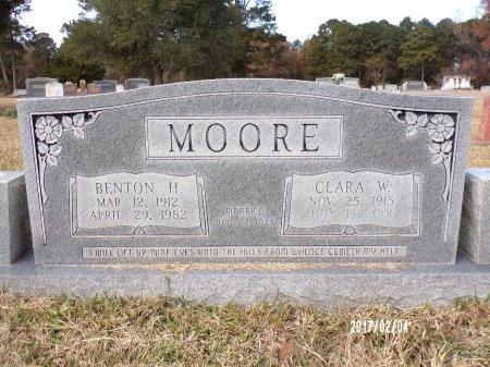MOORE, BENTON H - Ouachita County, Louisiana | BENTON H MOORE - Louisiana Gravestone Photos