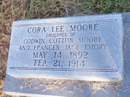 MOORE, CORA LEE - Ouachita County, Louisiana | CORA LEE MOORE - Louisiana Gravestone Photos
