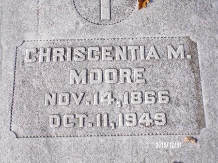 MOORE, CHRISCENTIA M - Ouachita County, Louisiana | CHRISCENTIA M MOORE - Louisiana Gravestone Photos