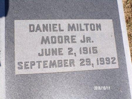 MOORE, DANIEL MILTON, JR - Ouachita County, Louisiana   DANIEL MILTON, JR MOORE - Louisiana Gravestone Photos