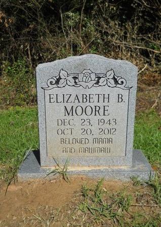 MOORE, ELIZABETH B - Ouachita County, Louisiana   ELIZABETH B MOORE - Louisiana Gravestone Photos