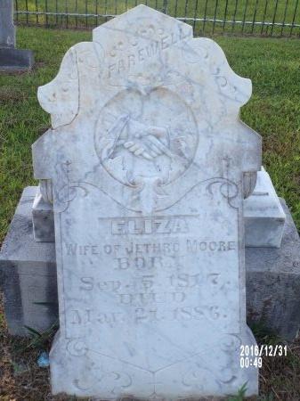 MOORE, ELIZA - Ouachita County, Louisiana | ELIZA MOORE - Louisiana Gravestone Photos