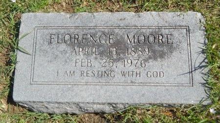 MOORE, FLORENCE - Ouachita County, Louisiana   FLORENCE MOORE - Louisiana Gravestone Photos
