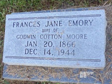MOORE, FRANCES JANE - Ouachita County, Louisiana   FRANCES JANE MOORE - Louisiana Gravestone Photos