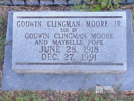 MOORE, GODWIN CLINGMAN, JR - Ouachita County, Louisiana | GODWIN CLINGMAN, JR MOORE - Louisiana Gravestone Photos