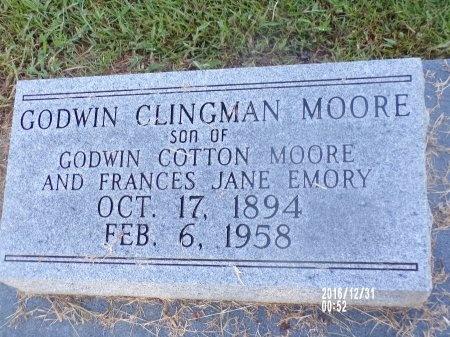 MOORE, GODWIN CLINGMAN, SR - Ouachita County, Louisiana | GODWIN CLINGMAN, SR MOORE - Louisiana Gravestone Photos