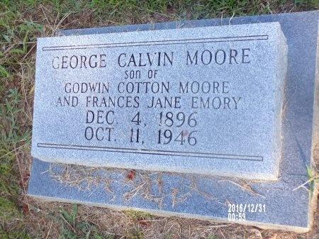 MOORE, GEORGE CALVIN - Ouachita County, Louisiana | GEORGE CALVIN MOORE - Louisiana Gravestone Photos