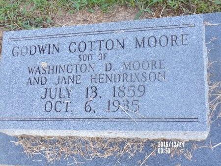 MOORE, GODWIN COTTON - Ouachita County, Louisiana | GODWIN COTTON MOORE - Louisiana Gravestone Photos