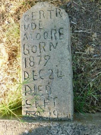 MOORE, GERTRUDE - Ouachita County, Louisiana | GERTRUDE MOORE - Louisiana Gravestone Photos
