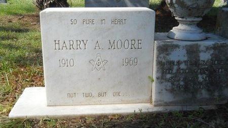MOORE, HARRY A - Ouachita County, Louisiana   HARRY A MOORE - Louisiana Gravestone Photos
