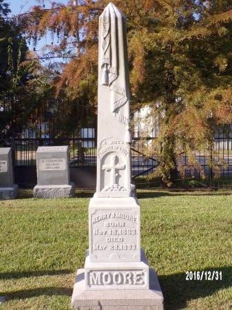 MOORE, HENRY J - Ouachita County, Louisiana   HENRY J MOORE - Louisiana Gravestone Photos