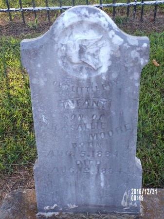 MOORE, INFANT SON - Ouachita County, Louisiana | INFANT SON MOORE - Louisiana Gravestone Photos