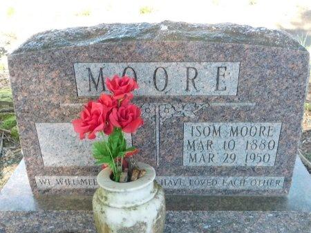 MOORE, ISOM, SR - Ouachita County, Louisiana | ISOM, SR MOORE - Louisiana Gravestone Photos