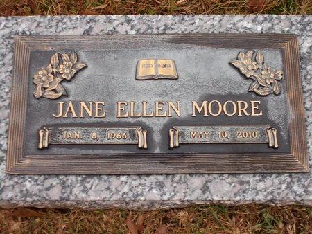 MOORE, JANE ELLEN - Ouachita County, Louisiana   JANE ELLEN MOORE - Louisiana Gravestone Photos