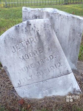 MOORE, JETHRO - Ouachita County, Louisiana   JETHRO MOORE - Louisiana Gravestone Photos