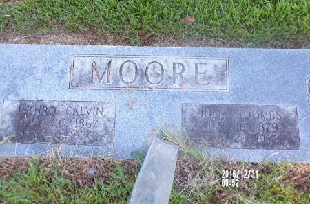 MOORE, JULIA - Ouachita County, Louisiana | JULIA MOORE - Louisiana Gravestone Photos