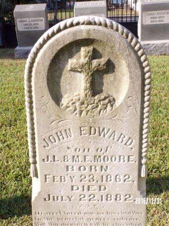 MOORE, JOHN EDWARD - Ouachita County, Louisiana | JOHN EDWARD MOORE - Louisiana Gravestone Photos