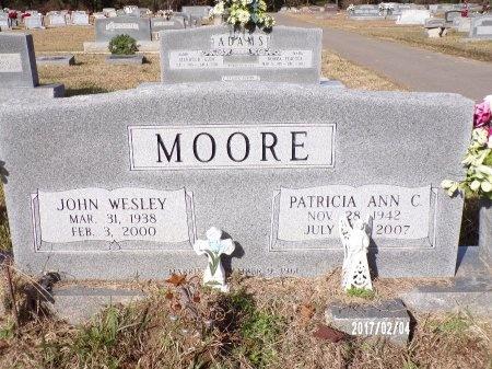 MOORE, JOHN WESLEY - Ouachita County, Louisiana | JOHN WESLEY MOORE - Louisiana Gravestone Photos