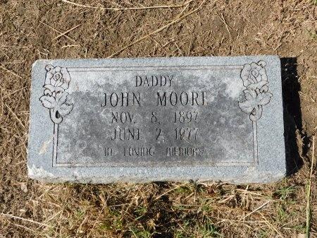 MOORE, JOHN - Ouachita County, Louisiana | JOHN MOORE - Louisiana Gravestone Photos