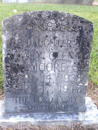 MOORE, MARY GLENN - Ouachita County, Louisiana | MARY GLENN MOORE - Louisiana Gravestone Photos