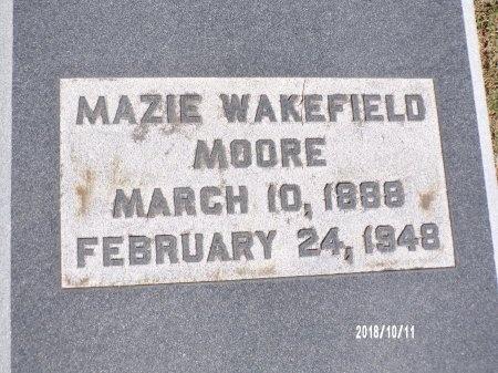 MOORE, MAZIE - Ouachita County, Louisiana   MAZIE MOORE - Louisiana Gravestone Photos