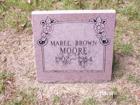 MOORE, MABEL - Ouachita County, Louisiana   MABEL MOORE - Louisiana Gravestone Photos