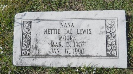 MOORE, NETTIE FAE - Ouachita County, Louisiana | NETTIE FAE MOORE - Louisiana Gravestone Photos
