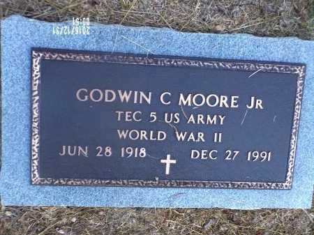 MOORE , GODWIN CLINGMAN, JR (VETERAN WWII) - Ouachita County, Louisiana | GODWIN CLINGMAN, JR (VETERAN WWII) MOORE  - Louisiana Gravestone Photos