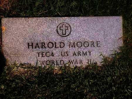 MOORE, HAROLD (VETERAN WWII) - Ouachita County, Louisiana   HAROLD (VETERAN WWII) MOORE - Louisiana Gravestone Photos