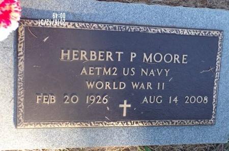 MOORE  , HERBERT P (VETERAN WWII) - Ouachita County, Louisiana   HERBERT P (VETERAN WWII) MOORE   - Louisiana Gravestone Photos