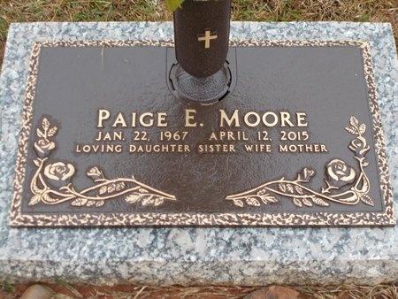 MOORE, PAIGE E (OBIT) - Ouachita County, Louisiana   PAIGE E (OBIT) MOORE - Louisiana Gravestone Photos