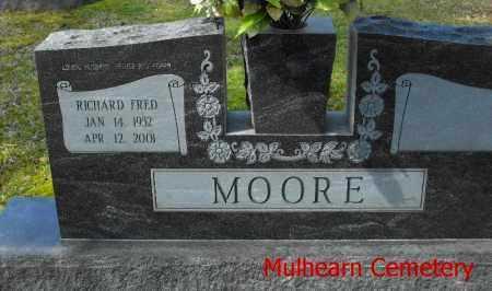 MOORE, RICHARD FRED - Ouachita County, Louisiana | RICHARD FRED MOORE - Louisiana Gravestone Photos