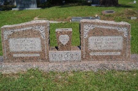 MOORE, BERNICE - Ouachita County, Louisiana   BERNICE MOORE - Louisiana Gravestone Photos
