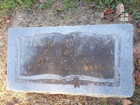 MOORE, REBECCA - Ouachita County, Louisiana | REBECCA MOORE - Louisiana Gravestone Photos