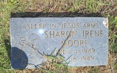 MOORE, SHARON IRENE - Ouachita County, Louisiana | SHARON IRENE MOORE - Louisiana Gravestone Photos