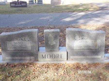 MOORE, BERTHA - Ouachita County, Louisiana | BERTHA MOORE - Louisiana Gravestone Photos