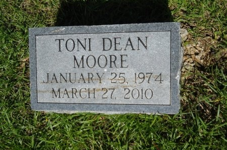 MOORE, TONI DEAN - Ouachita County, Louisiana | TONI DEAN MOORE - Louisiana Gravestone Photos