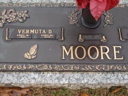 MOORE, VERMUTA D - Ouachita County, Louisiana | VERMUTA D MOORE - Louisiana Gravestone Photos