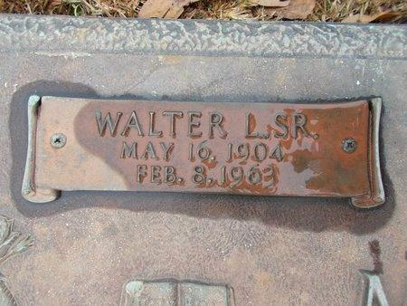 MOORE, WALTER L, SR (CLOSE UP) - Ouachita County, Louisiana | WALTER L, SR (CLOSE UP) MOORE - Louisiana Gravestone Photos