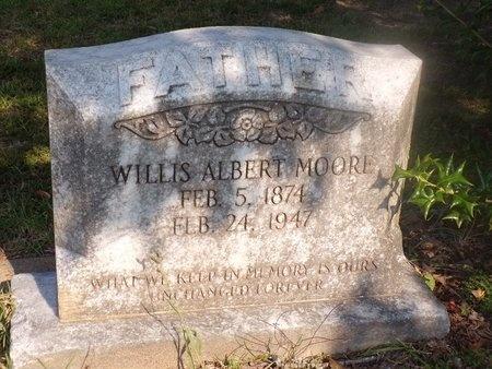 MOORE, WILLIS ALBERT - Ouachita County, Louisiana | WILLIS ALBERT MOORE - Louisiana Gravestone Photos