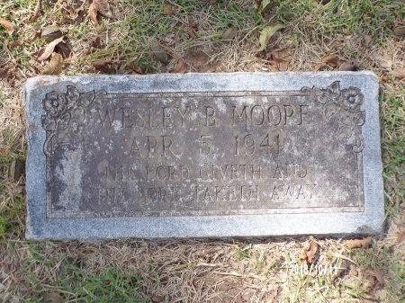 MOORE, WESLEY BOWYER - Ouachita County, Louisiana   WESLEY BOWYER MOORE - Louisiana Gravestone Photos