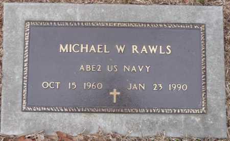 RAWLS, MICHAEL WAYNE (VETERAN) - Ouachita County, Louisiana | MICHAEL WAYNE (VETERAN) RAWLS - Louisiana Gravestone Photos