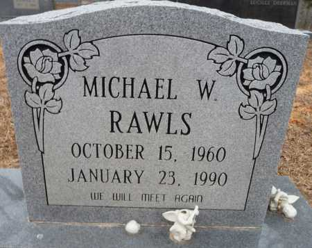 RAWLS, MICHAEL WAYNE - Ouachita County, Louisiana | MICHAEL WAYNE RAWLS - Louisiana Gravestone Photos