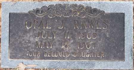 RAWLS, OPAL J - Ouachita County, Louisiana   OPAL J RAWLS - Louisiana Gravestone Photos