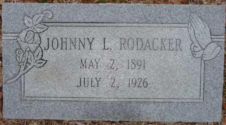 RODACKER, JOHNNY LESLIE - Ouachita County, Louisiana | JOHNNY LESLIE RODACKER - Louisiana Gravestone Photos