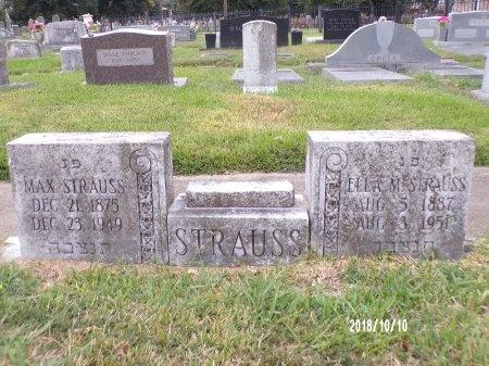 STRAUSS, MAX - Ouachita County, Louisiana   MAX STRAUSS - Louisiana Gravestone Photos